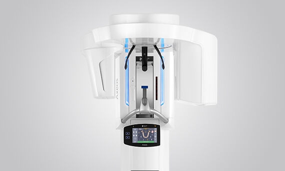 Panoramski rentgeni 3D Axeos + Orthophos